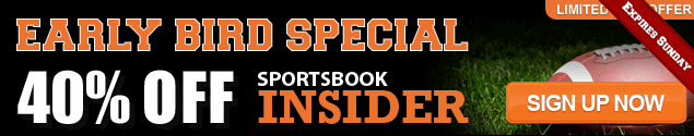 Sportsbook Insider Early Bird Special