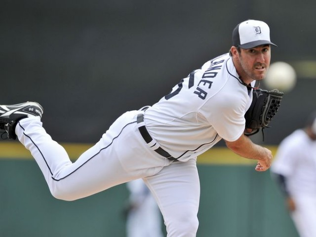 2011 Cy Young Winner Justin Verlander of the Detroit Tigers
