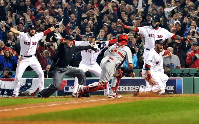 MLB: OCT 30 World Series - Cardinals at Red Sox - Game 6