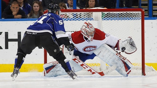 Carey Price vs Lightning