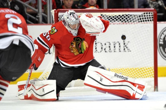 Corey Crawford vs Preds