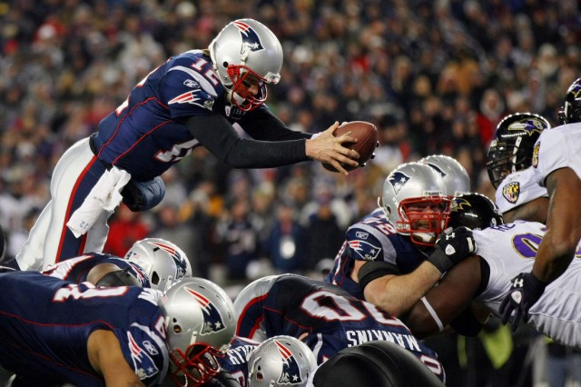 Tom Brady: Patriots vs. Ravens