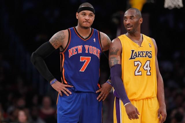 Carmelo and Kobe