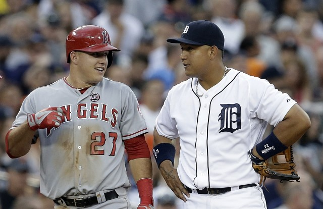 Mike Trout and Miguel Cabrera