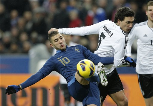 France Soccer Germany