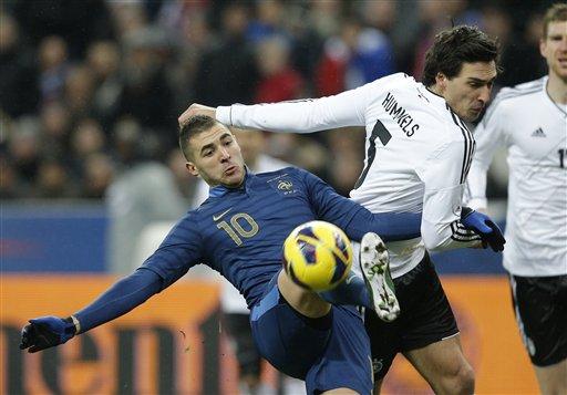 France Soccer Germany
