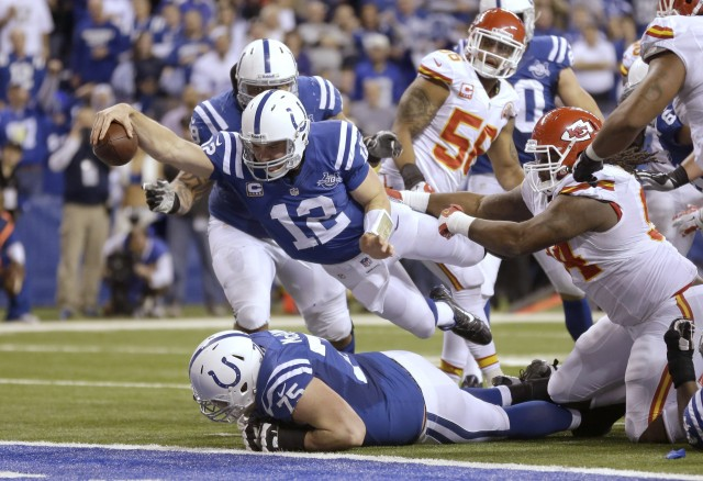 Chiefs Colts Football - Andrew Luck