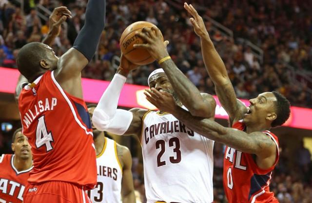 LeBron vs Hawks