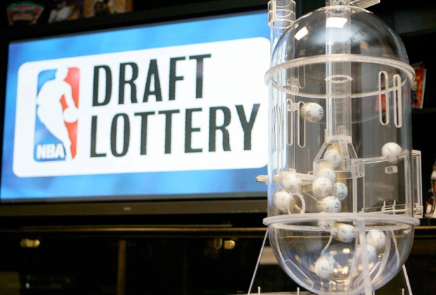 SEACUCUS, NJ -  MAY 22: NBA Draft Lottery Machine prior to the 2007 NBA Draft Lottery on May 22, 2007 at the NBATV Studios in Secaucus, New Jersey. NOTE TO USER: User expressly acknowledges and agrees that, by downloading and/or using this Photograph, user is consenting to the terms and conditions of the Getty Images License Agreement. Mandatory Copyright Notice: Copyright 2007 NBAE (Photo by Ned Dishman/NBAE via Getty Images)