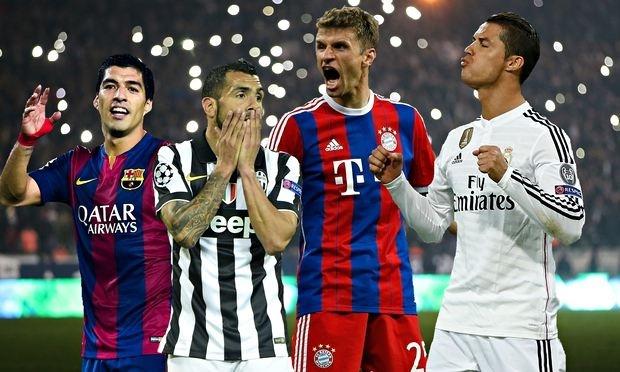 Juve Barca Bayern