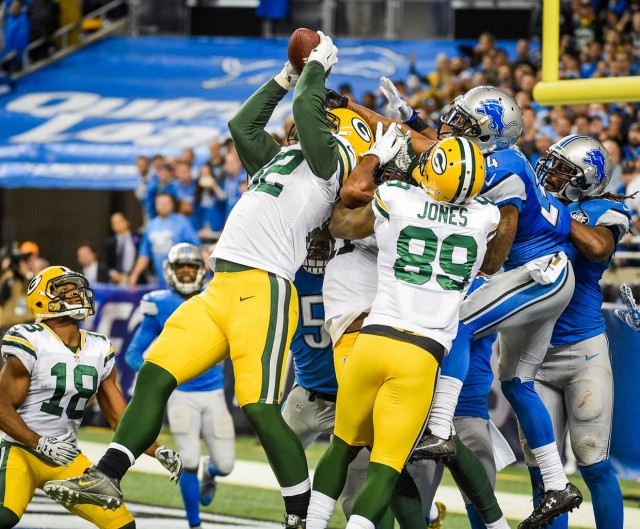 Lions Packers