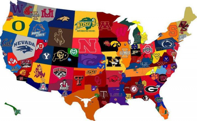 college basketball conferences