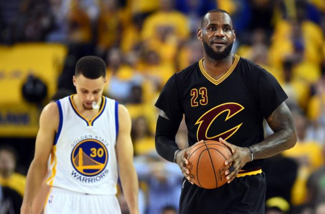 lebron and curry