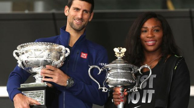 novak and serena