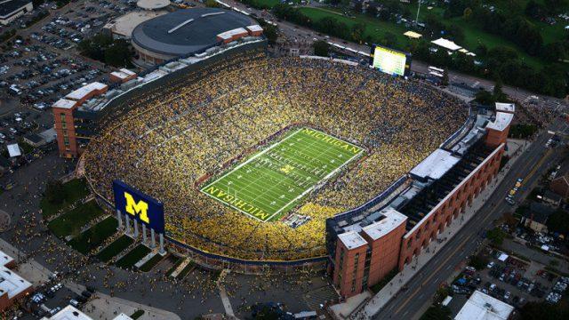 College football stadium pictures