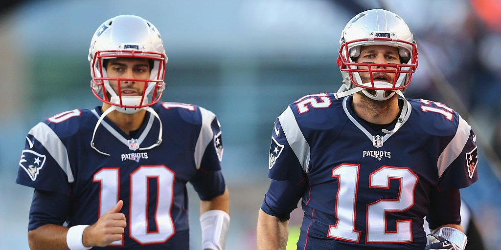 cheap for discount 68953 ee7fe What Team Will Jimmy Garoppolo Play for in 2017? | Sports ...