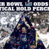 Super Bowl 52 Odds and Theoretical Hold Percentages