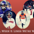 2017 NFL Week 6: Lines We're Watching