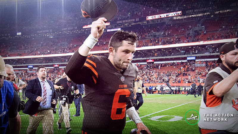 Early Week 4 betting line movement suggest Baker Mayfield and the Cleveland Browns will struggle against the Oakland Raiders.