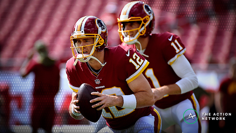promo code 4c6d9 21df1 How Alex Smith's Injury Moved the Redskins-Cowboys Betting ...