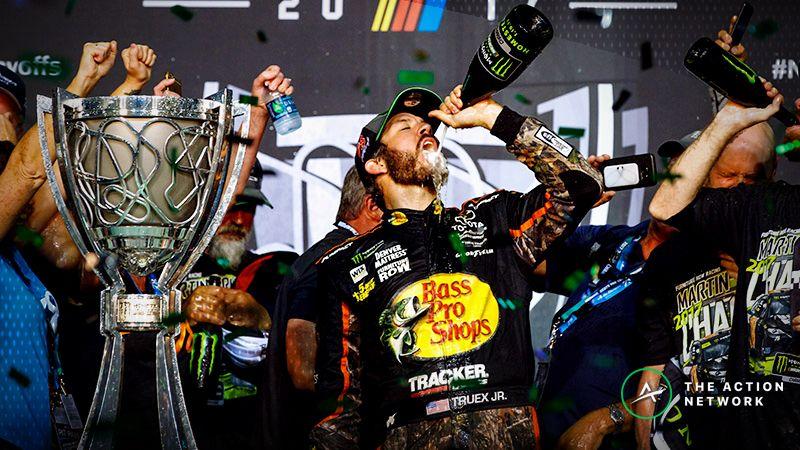 NASCAR Cup Series driver Martin Truex Jr.